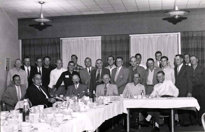 item thumbnail for Farewell party for Tony Agrell from the Washburn-Wilson Seed Company