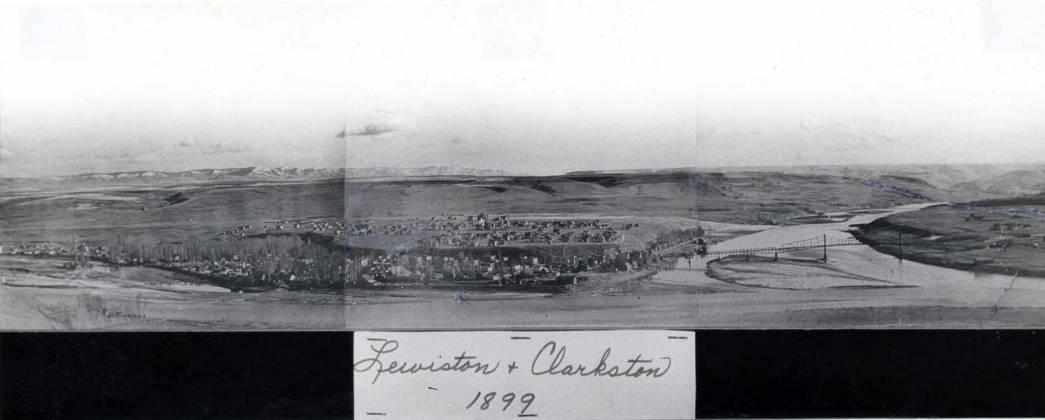 item thumbnail for Lewiston and Clarkston, 1899