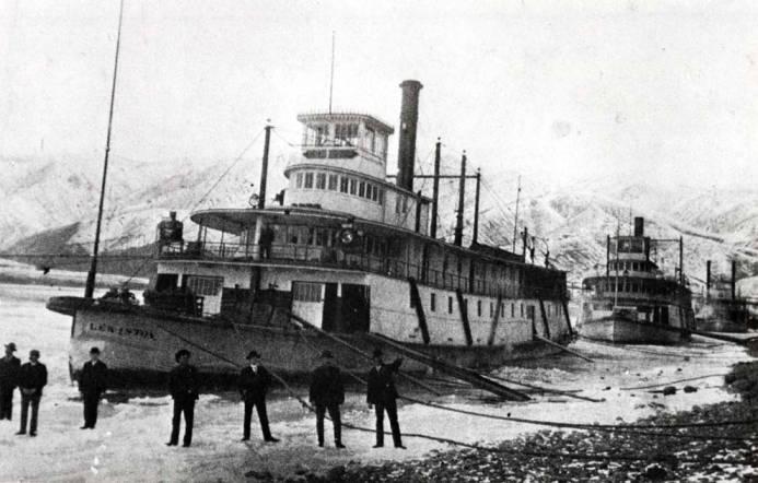 item thumbnail for Riverboats Lewiston, Spokane, and J.M. Hannaford