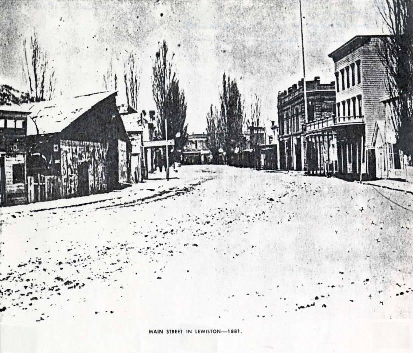item thumbnail for Main Street in Lewiston, 1881