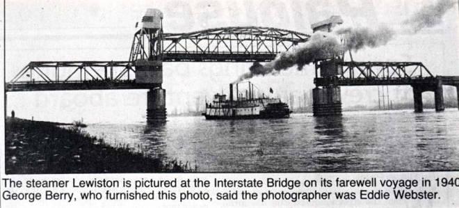 item thumbnail for Steamboat Lewiston at Interstate Bridge
