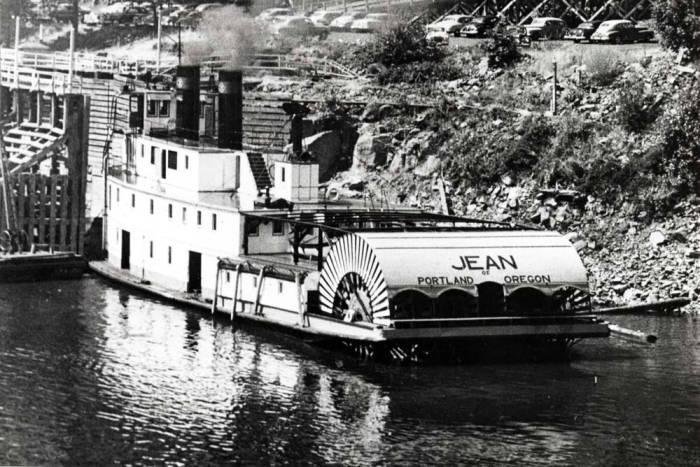 "item thumbnail for Riverboat ""Jean"" at Portland"