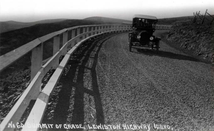item thumbnail for Highway, showing summit of Lewiston Grade