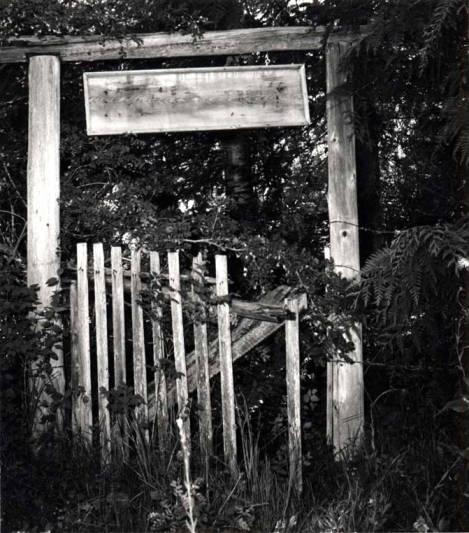 item thumbnail for Shattuck cabin entrance gate