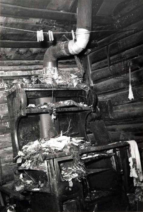 item thumbnail for Shattuck cabin, showing stove