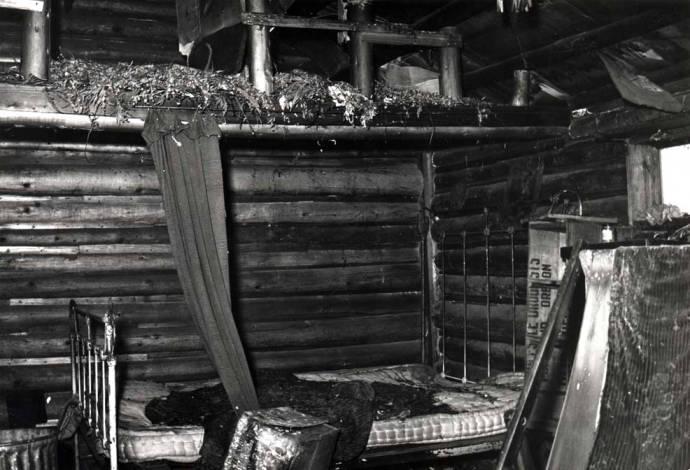 item thumbnail for Shattuck cabin, showing sleeping area