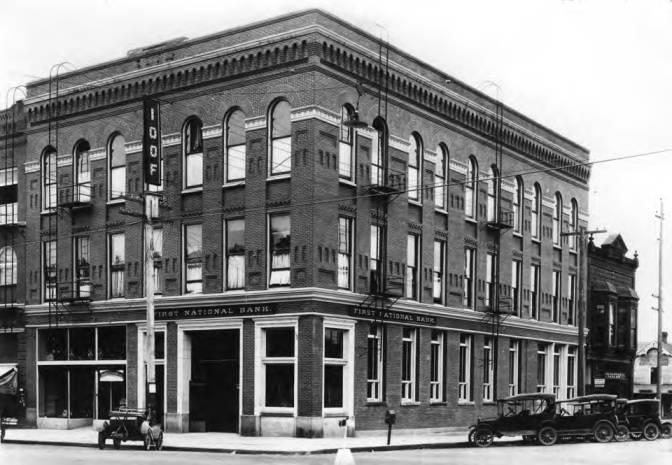 item thumbnail for First National Bank, circa 1921