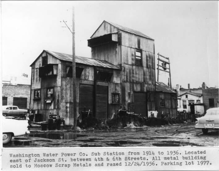 item thumbnail for Washington Water Power Company Sub Station from 1914 to 1956