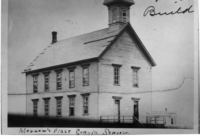 item thumbnail for Moscow's first public school at Russell