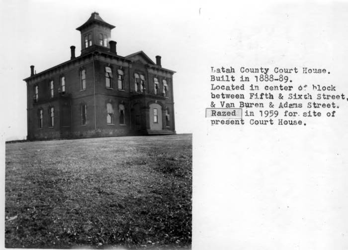 item thumbnail for Latah County Courthouse [02]