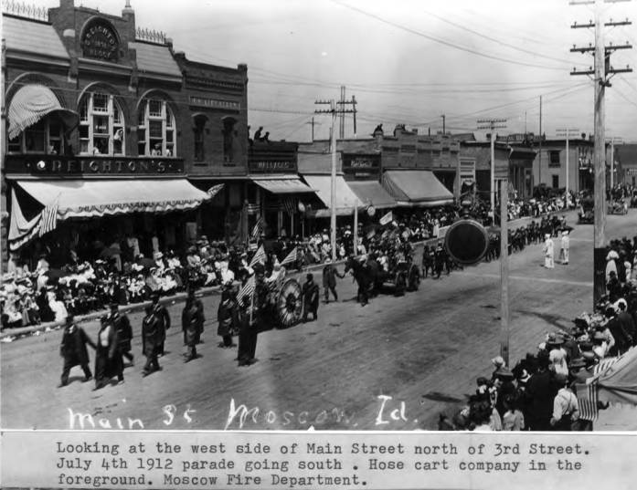 item thumbnail for Looking at the west side of Main Street north of Third Street [02]