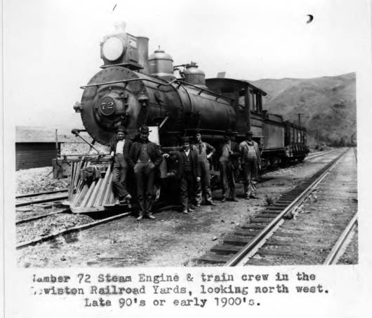item thumbnail for Steam engine in Lewiston, Idaho