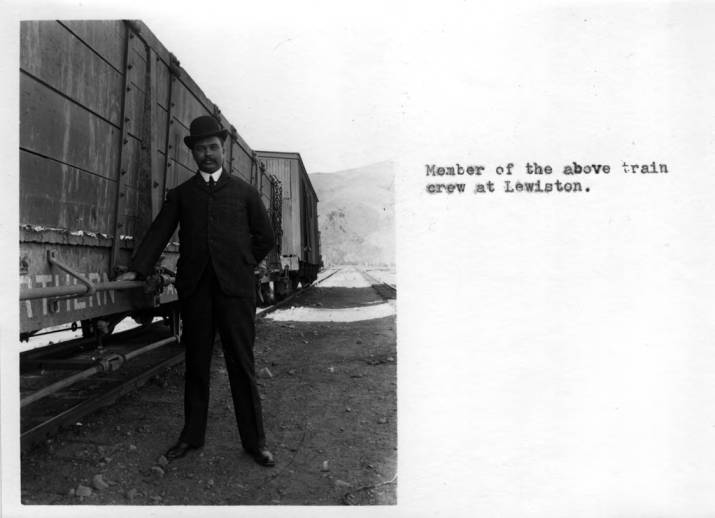 item thumbnail for Train crew member in Lewiston, Idaho