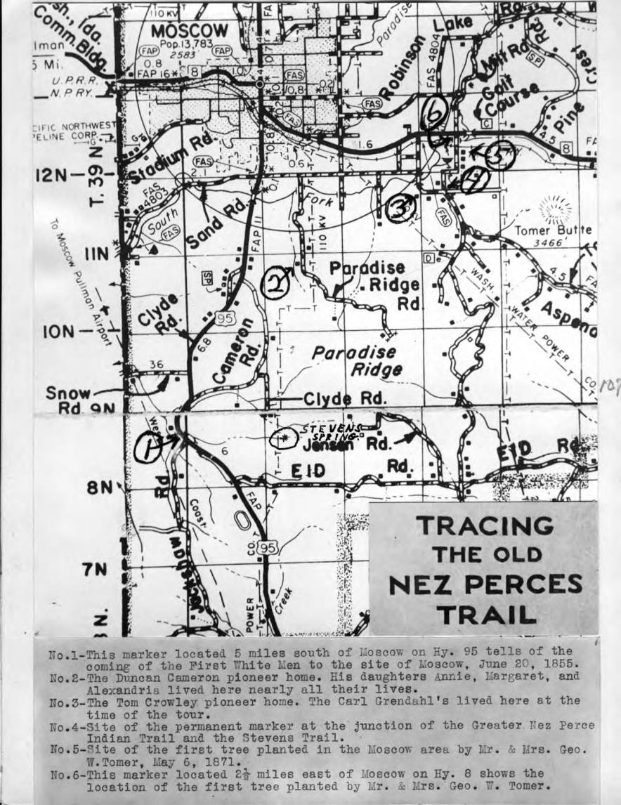 item thumbnail for Tracing the old Nez Perces Trail