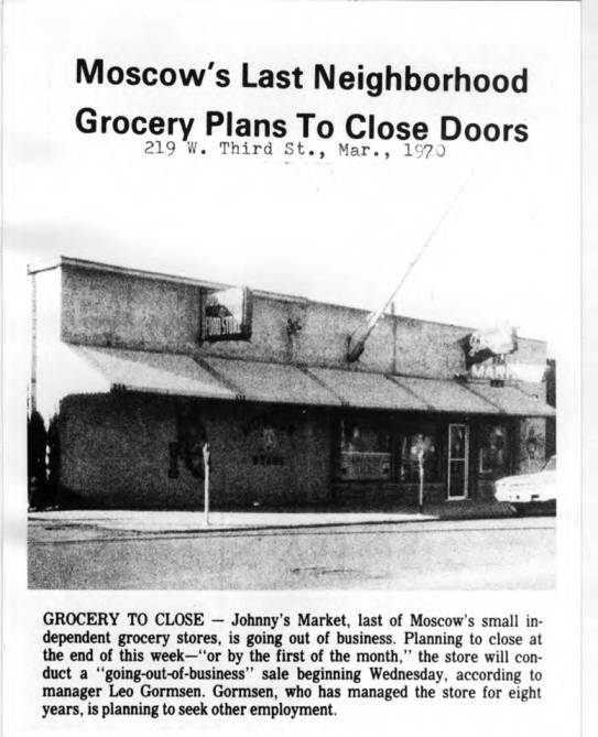 item thumbnail for Moscow's last neighborhood grocery plans to close doors