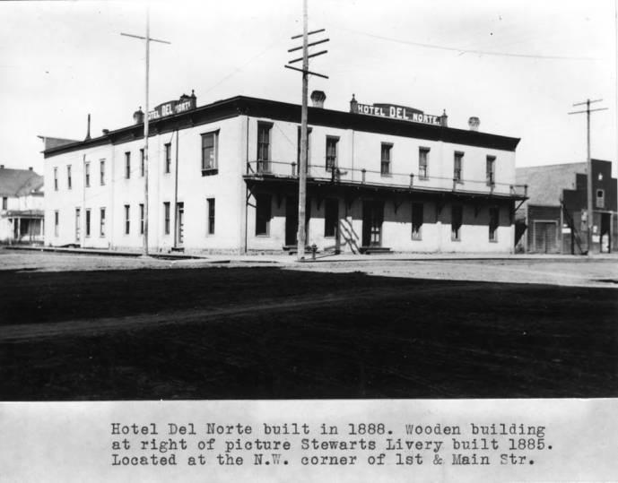 item thumbnail for Hotel Del Norte built in 1888
