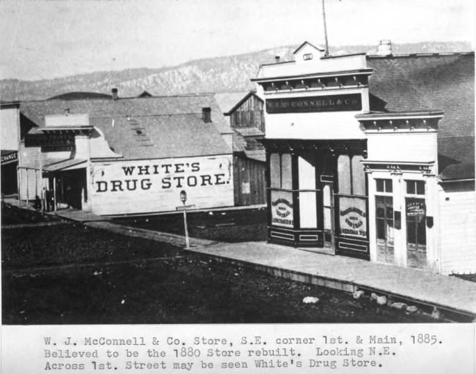 item thumbnail for W.J. McConnell & Company store, southeast corner of First and Main streets, 1885