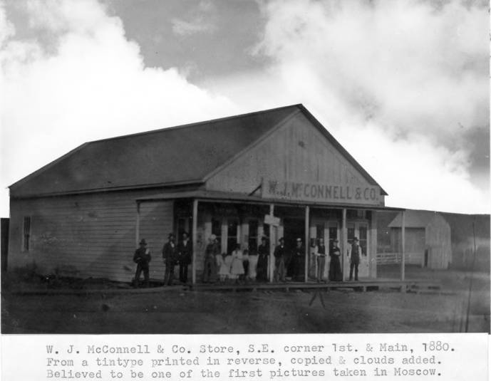 item thumbnail for W.J. McConnell & Company store, southeast corner of First and Main streets, 1880