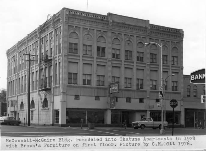 item thumbnail for McConnell-Maguire Building remodeled into Thatuna Apartments