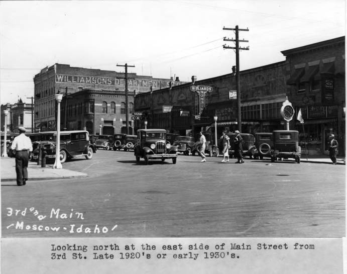 item thumbnail for Looking north at the east side of Main Street from Third Street [02]