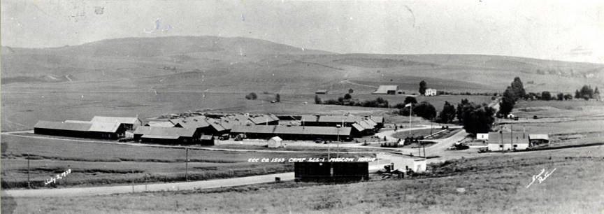 item thumbnail for Civilian Conservation Corps camp 1503, circa 1938