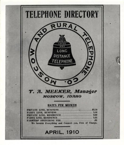 item thumbnail for Telephone directory, Moscow and Rural Telephone Company [06]