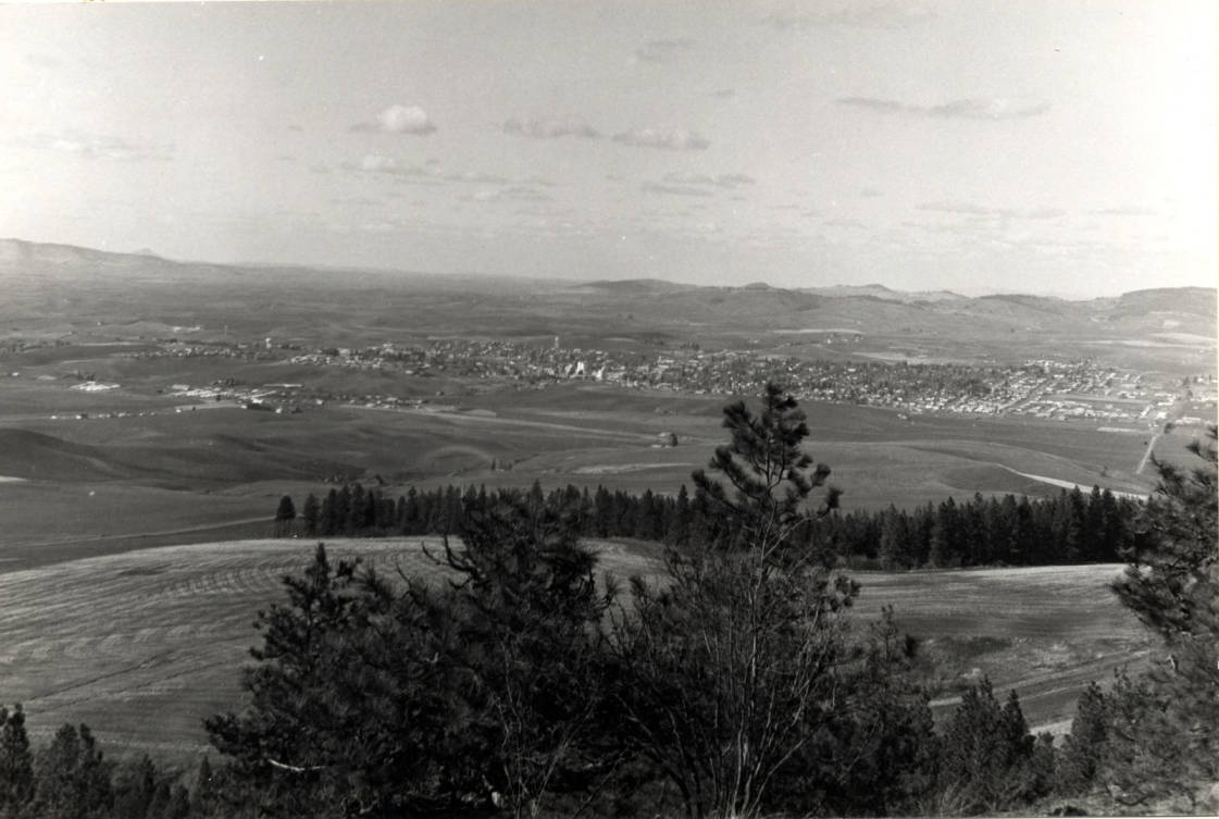 item thumbnail for Moscow, looking northwest from Paradise Ridge