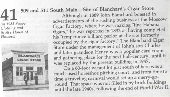 item thumbnail for Blanchard's Cigar Store in Moscow [02]