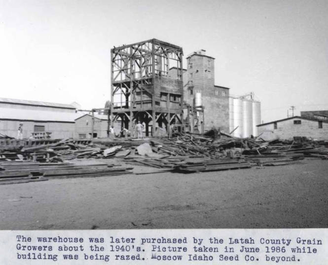 item thumbnail for Warehouse purchased by Latah County Grain Growers
