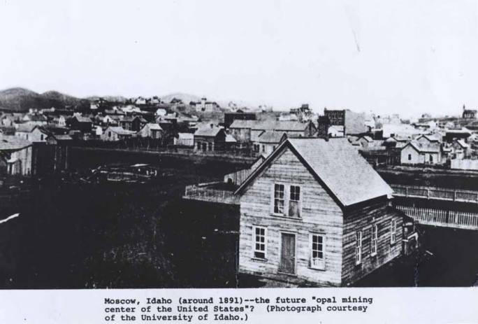 item thumbnail for Moscow, Idaho around 1891