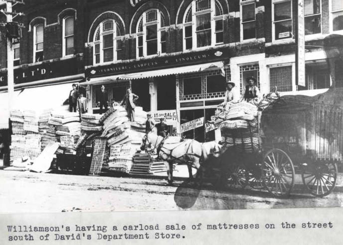 item thumbnail for Williamson's having a carload sale of mattresses