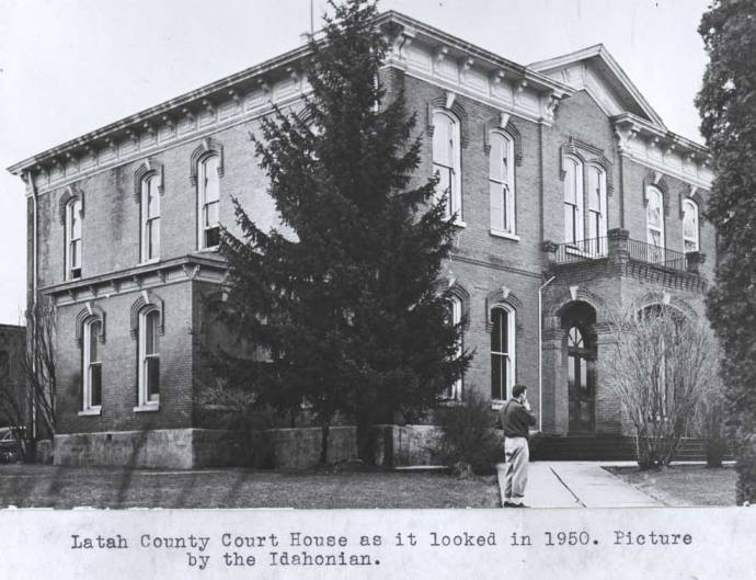 item thumbnail for Latah County Courthouse, circa 1950