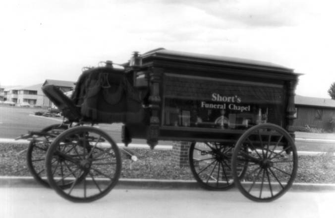 item thumbnail for Hearse shown in Moscow's Centennial Parade, July 11, 1987
