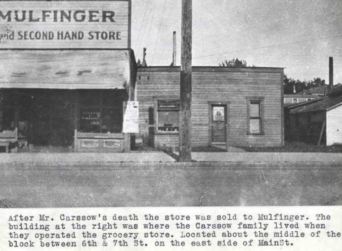 item thumbnail for Building at 616 South Main Street, Moscow Idaho