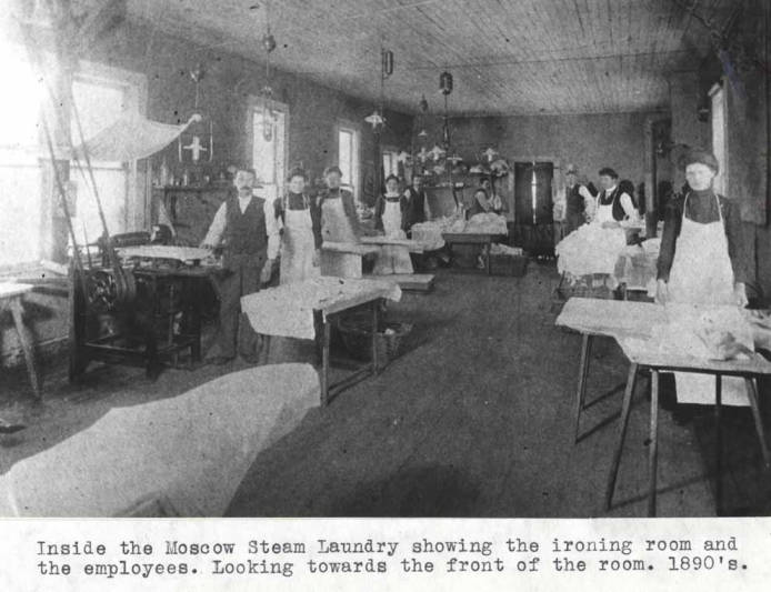 item thumbnail for Inside the Moscow Steam Laundry at 613 South Main St [01]