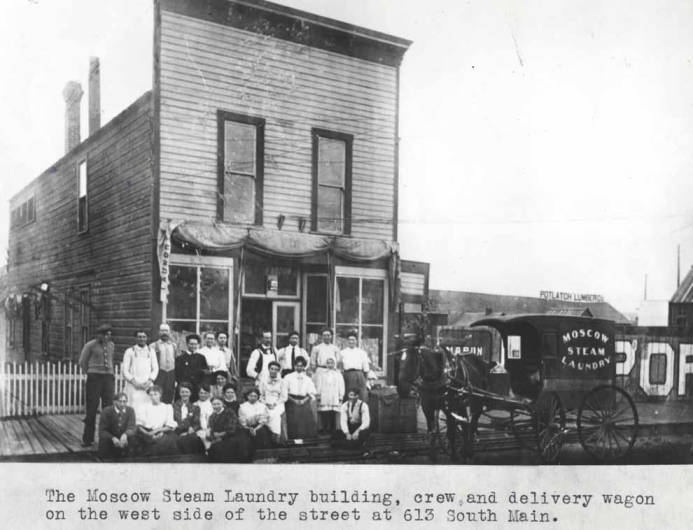 item thumbnail for Moscow Steam Laundry building at 613 South Main Street