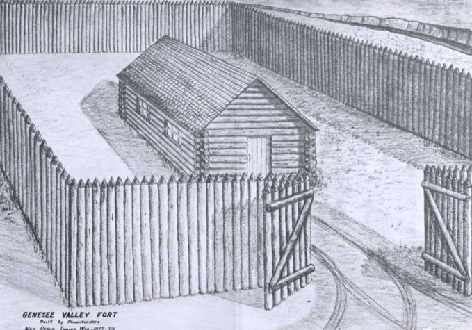 item thumbnail for Genesee Valley Fort in Genesee