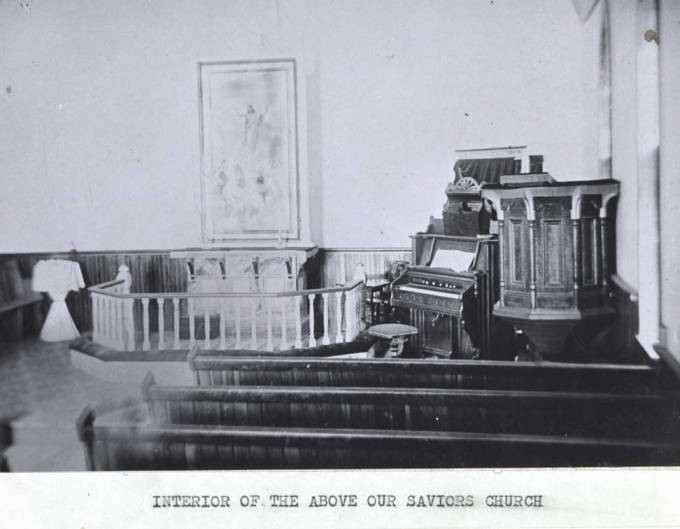 item thumbnail for Interior of Our Saviors Church in Genesee