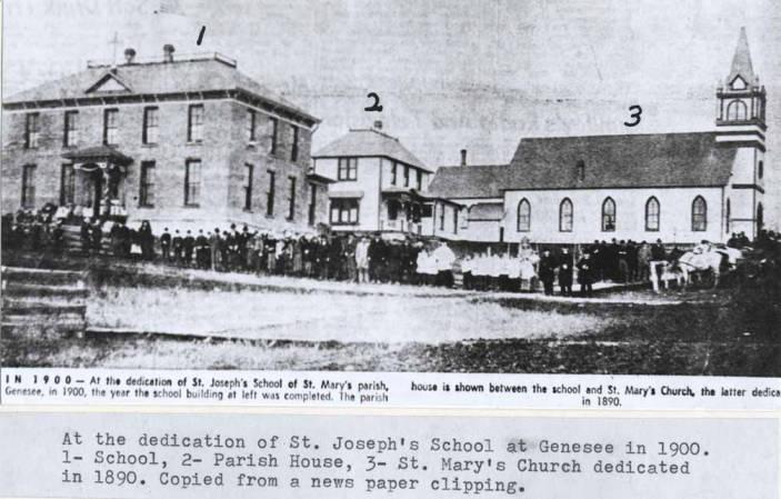 item thumbnail for St. Joseph's School in Genesee