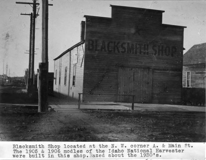 item thumbnail for Blacksmith shop