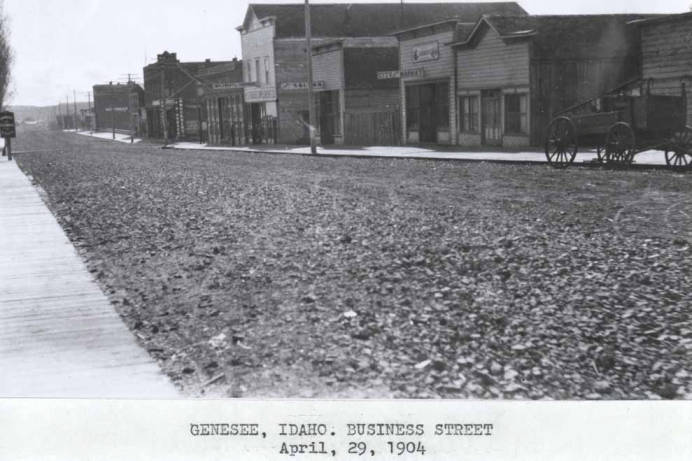 item thumbnail for Business street in Genesee [01]