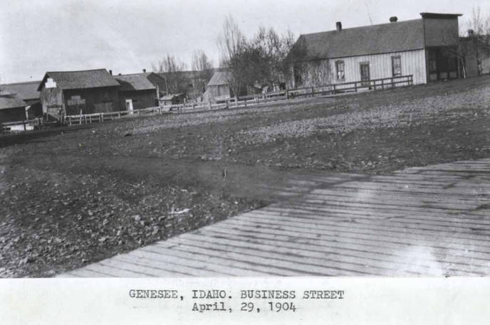 item thumbnail for Business street in Genesee [02]