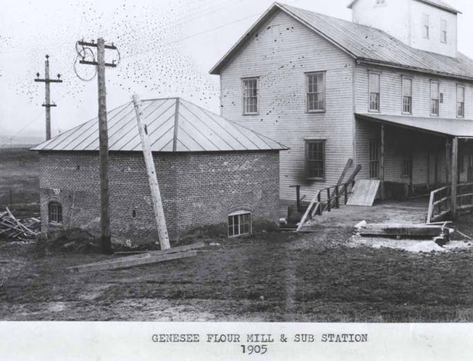 item thumbnail for Flour mill and sub station in Genesee [01]
