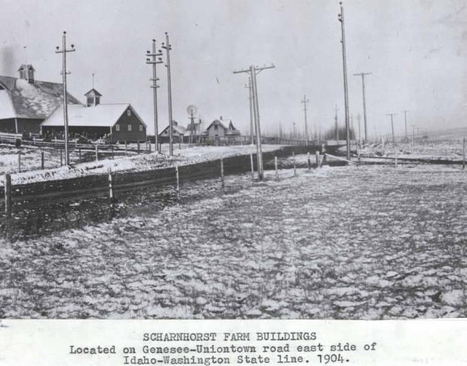 item thumbnail for Scharnhorst farm buildings