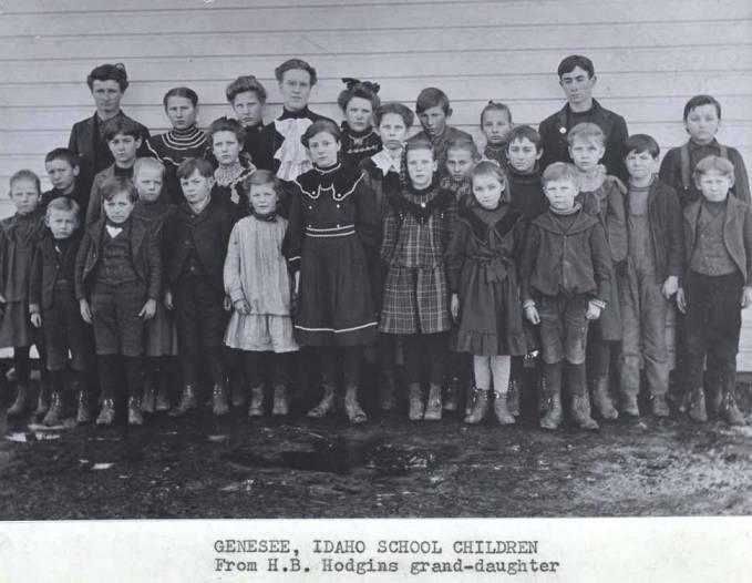 item thumbnail for School children in Genesee [02]