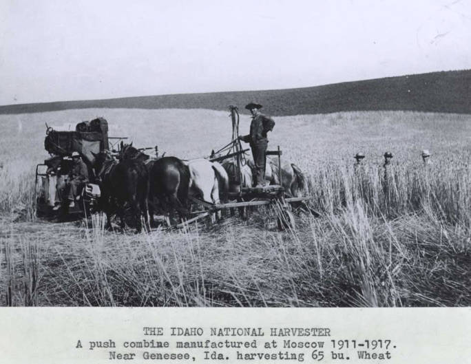 item thumbnail for Idaho National Harvester, manufactured in Moscow