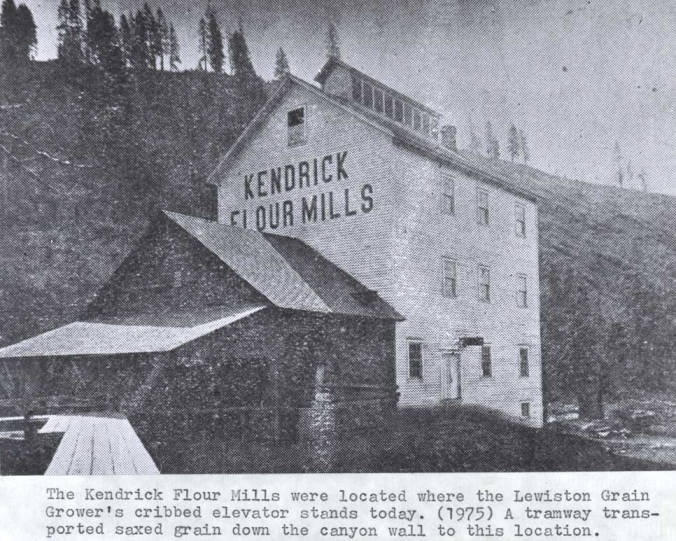 item thumbnail for Kendrick flour mill building