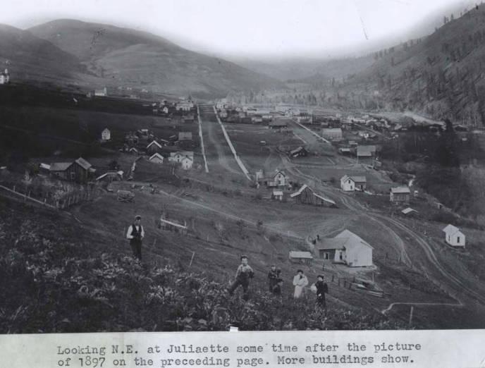 item thumbnail for Looking northeast at Juliaetta [02]
