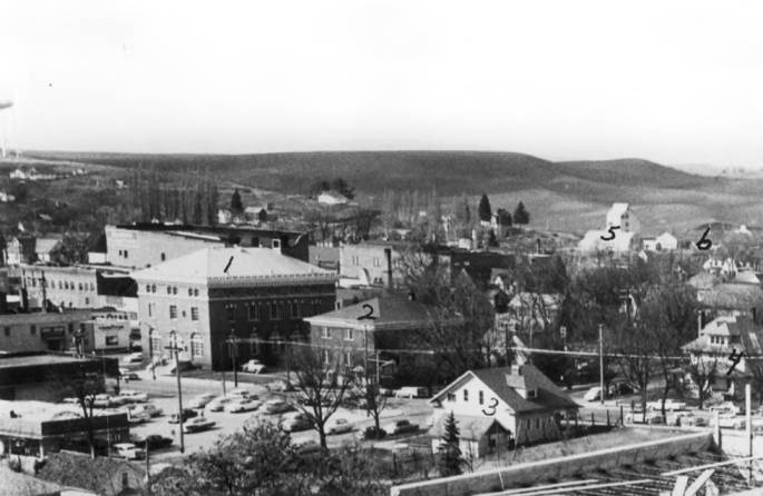 item thumbnail for Panorama of Moscow, looking northwest from new Courthouse