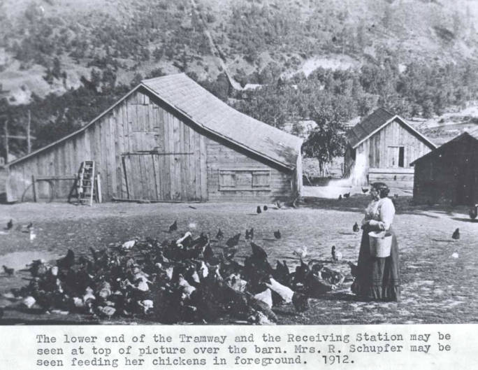 item thumbnail for Lower end of the tramway and the receiving station